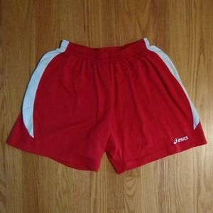 Asics mens linerless running shorts